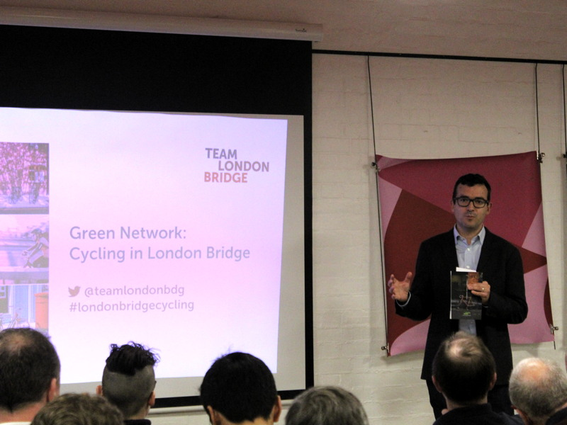 London Bridge cycle strategy and action plan launched