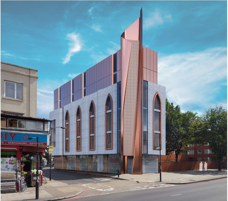 New mosque in Old Kent Road