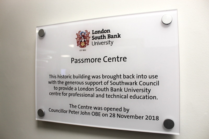 Passmore Centre: LSBU launches hub for apprenticeships