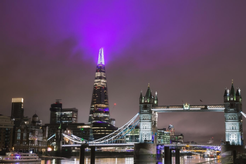 Shard takes 'reflection' as theme for 2018 light show