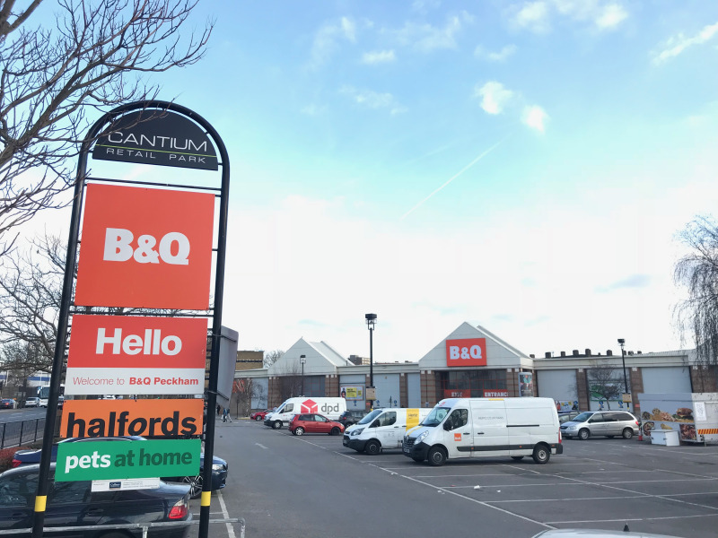 B&Q objects to plan to knock down its Old Kent Road store