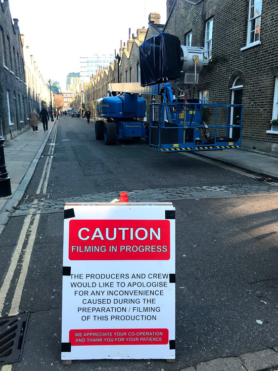 Pennyworth: Batman prequel filming in Roupell Street