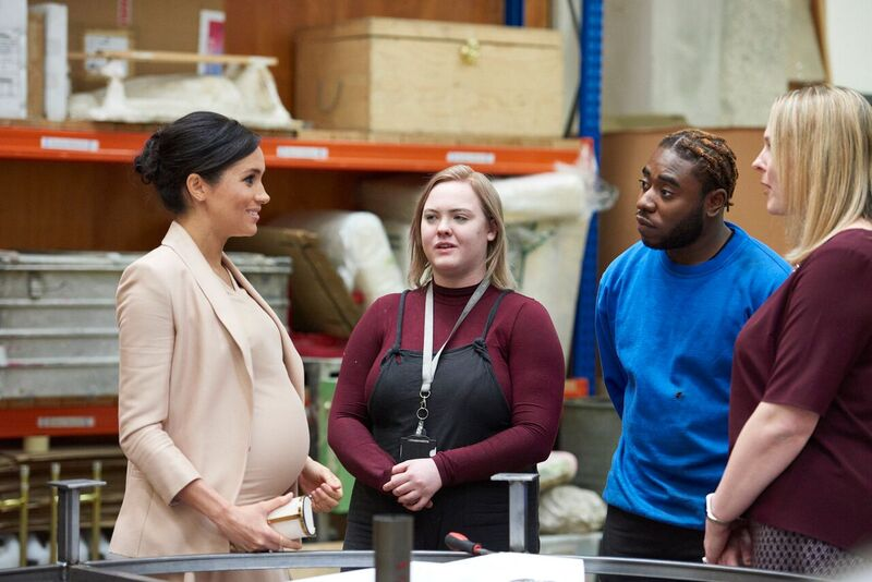 Meghan visits South Bank as she becomes National Theatre patron