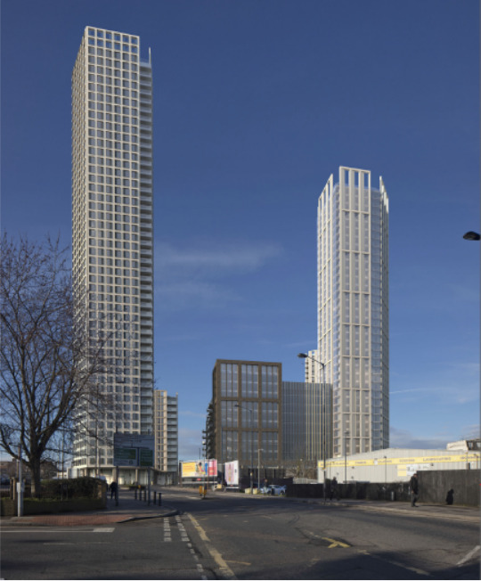 Green light for 1,100 homes at B&Q Old Kent Road site