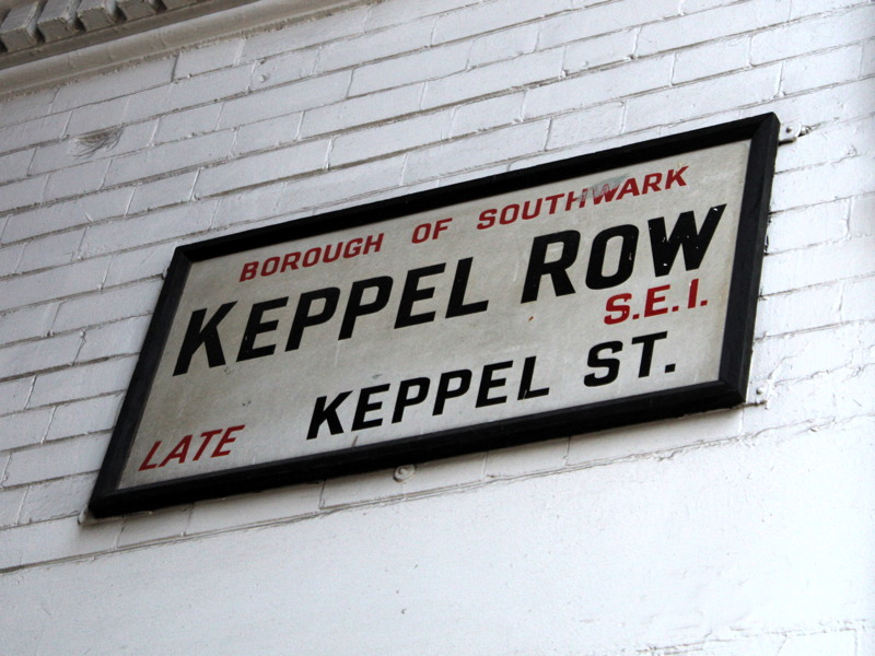Keppel Row: Bankside alleyway revamped