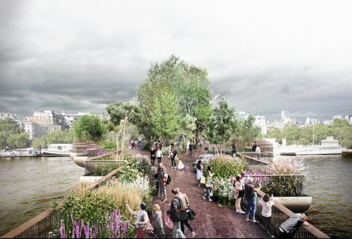 Empty chairs as Garden Bridge trustees refuse to face Assembly