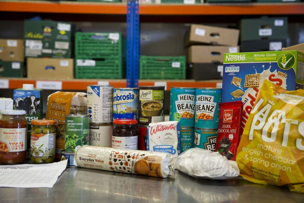 2,928 food parcels issued by Waterloo Foodbank in past year