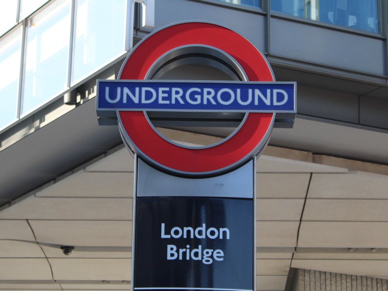 Fire brigade serves enforcement notice at London Bridge Tube