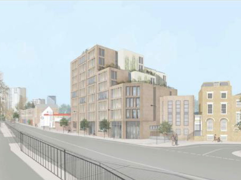 'Compact living' flats proposed for New Kent Road