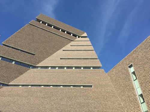 Child thrown from top of Tate Modern; teenager arrested
