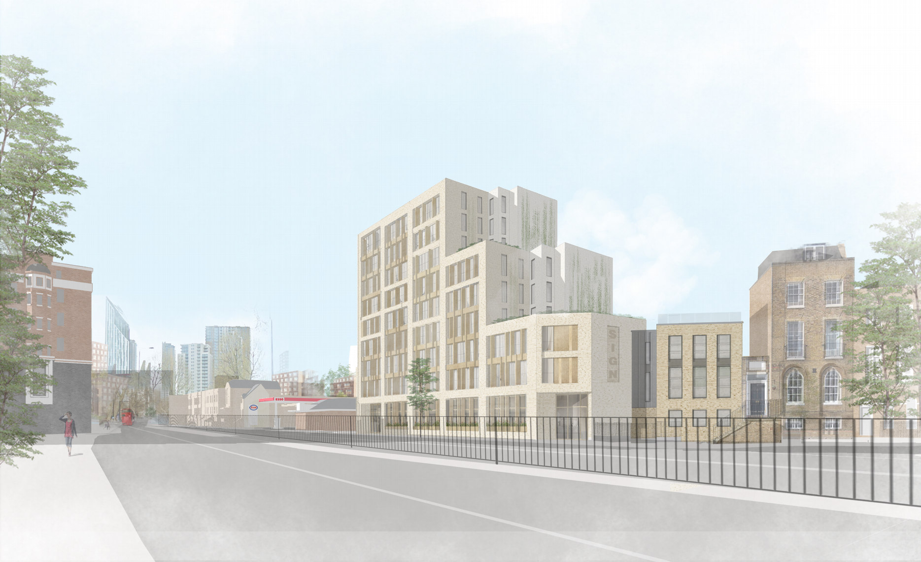 200-room 'mid-market' hotel proposed for New Kent Road