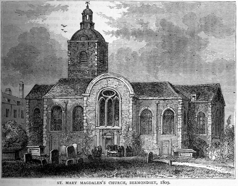 Bermondsey's St Mary Magdalen church on heritage at risk register