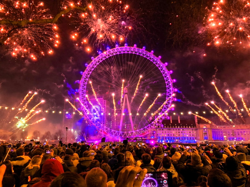 Could drone display replace London's New Year fireworks?
