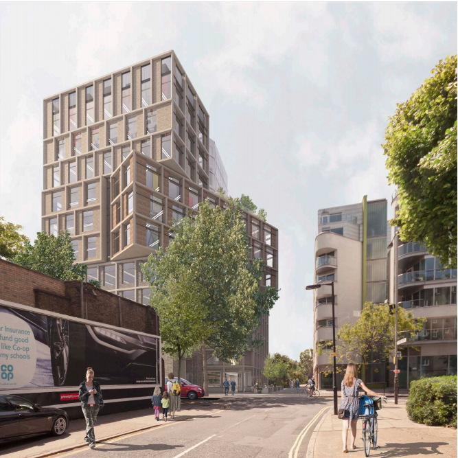 11-storey office block proposed for Long Lane