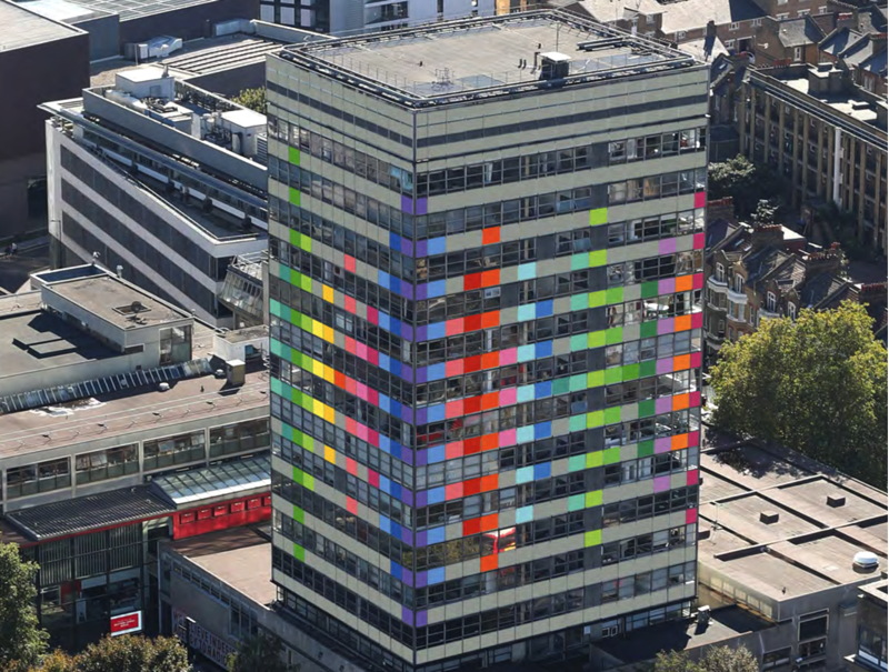 Elephant & Castle's LCC tower in line for colourful makeover