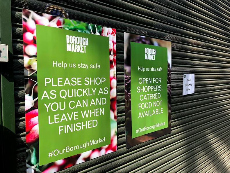 Borough Market traders can claim support as Govt closes loophole