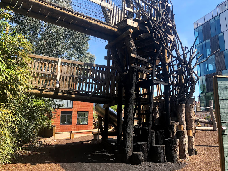 Mint Street Adventure Playground damaged by fire