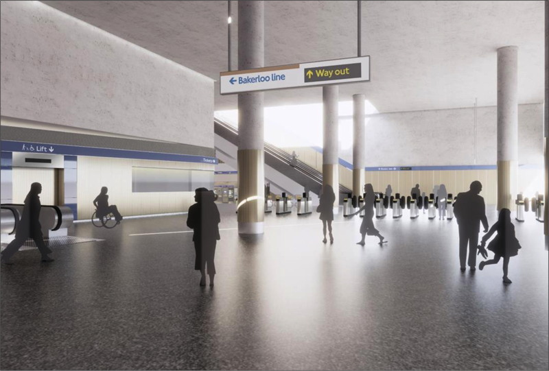 New images of Elephant & Castle's upgraded tube station