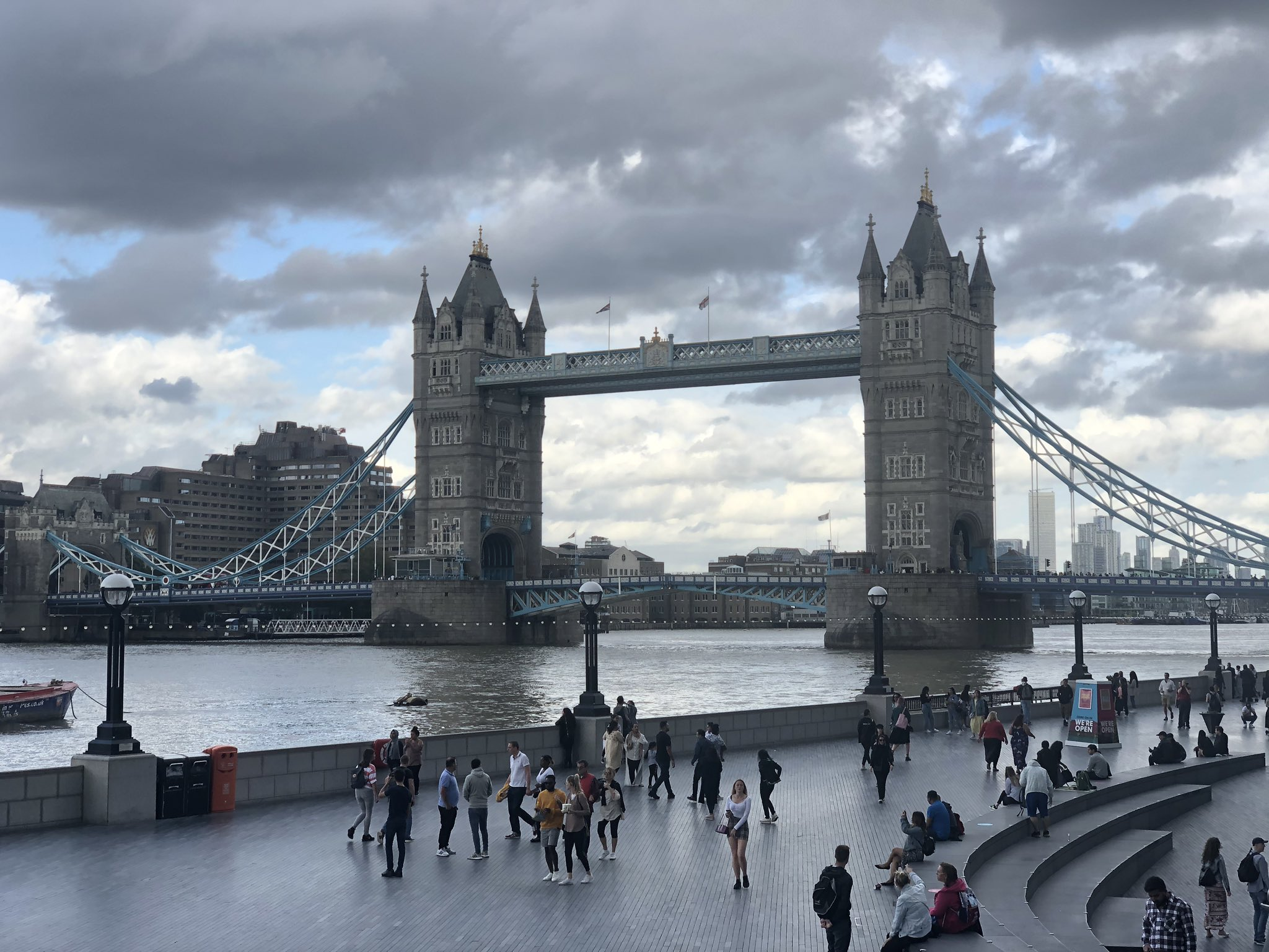 Tower Bridge: £6m electrical works so bascules don't get stuck