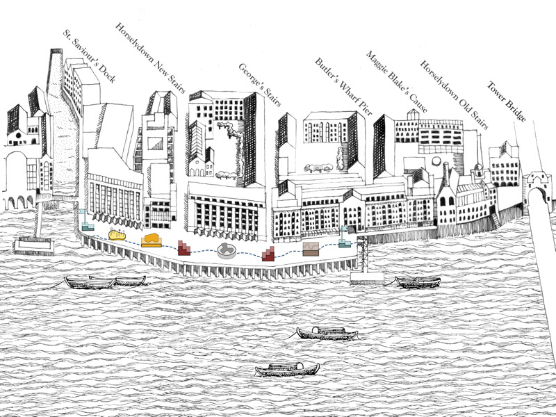 The Tide Line: Butler's Wharf design competition winner named