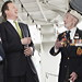 David Cameron at HMS Belfast for Arctic Star medal reception