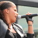 Ms Dynamite performs at The Scoop for young Waterway Champions