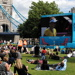 See the Olympic and Paralympic games on the big screen in Potters Fields Park