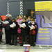 Young carol singers raise money for local winter night shelter
