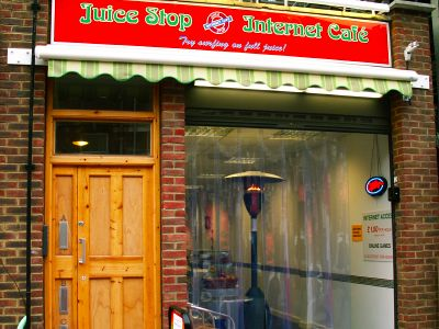 juice stop internet cafe   cut se lw