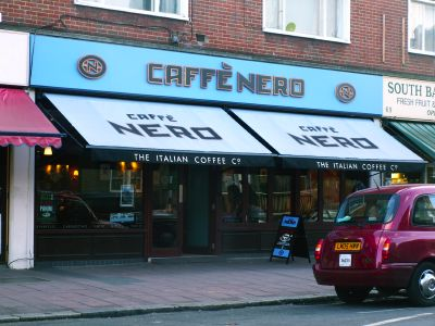 The Cut Waterloo Restaurants >> Caffe Nero, 65A-67 The Cut SE1 8LF