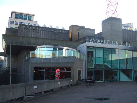 Concrete Cafe Bar At Hayward Gallery Southbank Centre