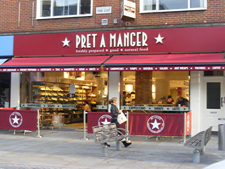 pret a manger 69 71 the cut se1 8ll. Black Bedroom Furniture Sets. Home Design Ideas