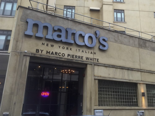 Marco 39 s new york italian at mercure london bridge hotel for American cuisine in nyc