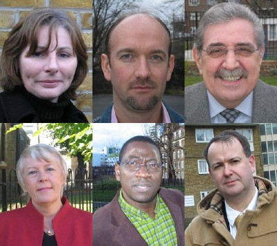 The members of Borough and Bankside Community Coun