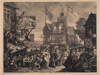 Southwark Fair. William Hogarth. ©The Trustees of