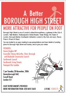 A Better Borough High Street at
