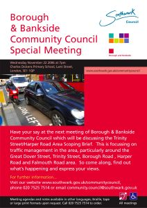 Borough and Bankside Community Council at