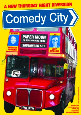 Comedy City at Paper Moon