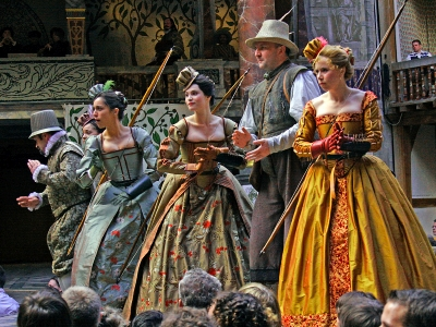 Love's Labours Lost at the Globe