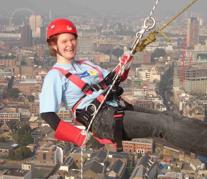 Marie Curie Cancer Care Sponsored Abseil at Guy's Hospital