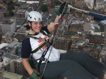 Evelina Children's Hospital Appeal Sponsored Abseil at