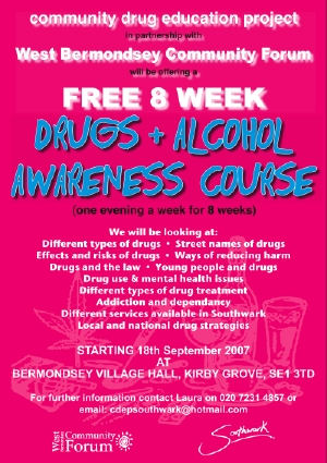 Drugs and Alcohol Awareness Course at