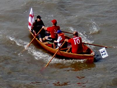 Great River Race at River Thames
