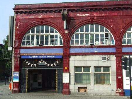 Lambeth North Underground Station