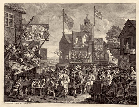 Southwark Fair by William Hogarth