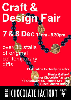 Craft & Design Fair at Menier Gallery