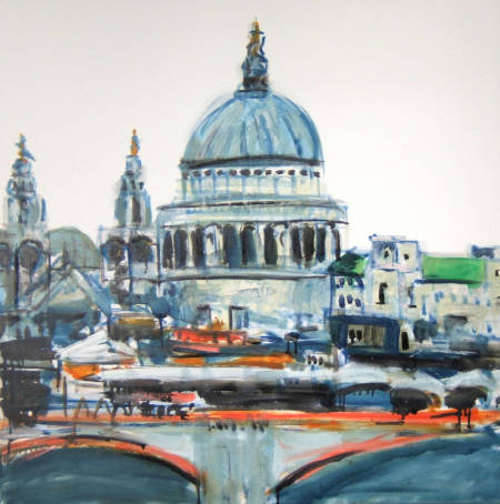 St Paul's by Colin Michael