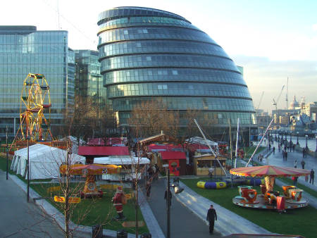 Tower Bridge European Christmas Market at Potters Fields Park
