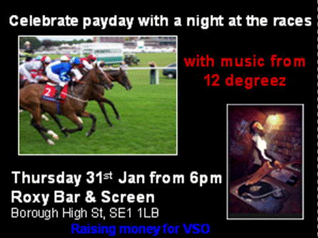 Charity Race Night at
