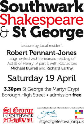 Southwark, Shakespeare & St George at